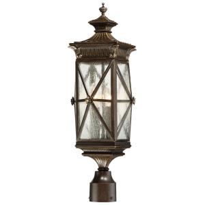 Rue Vieille - Four Light Outdoor Post Lantern