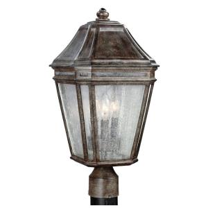 Londontowne - 9.75 Inch Three Light Outdoor Post Mount