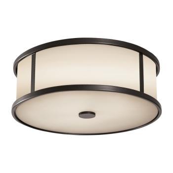 Dakota - 3 Light Outdoor Flushmount Ceiling Fixture - OL7613ES