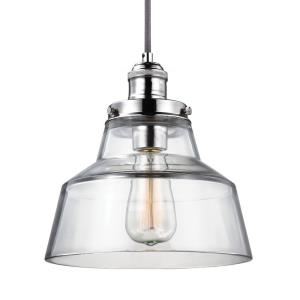 Baskin - 10 Inch One Light Pendant