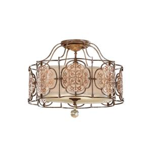 Marcella - Three Light Indoor Semi-Flush Mount