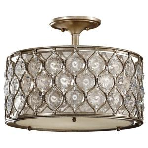 Lucia - Three Light Semi-Flush Mount