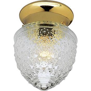 One Light Flush Mount - P3750-10