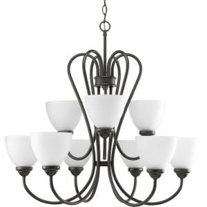 Heart - Nine Light 2-Tier Chandelier