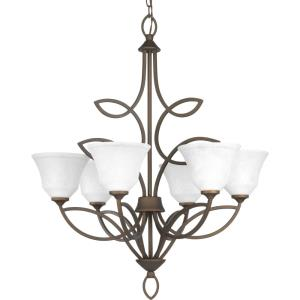 Monogram - Six Light Chandelier
