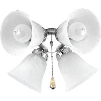 Airpro - Four Light Ceiling Fan Kit - P2610-09
