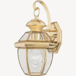 Newbury - One Light Outdoor Wall Mount