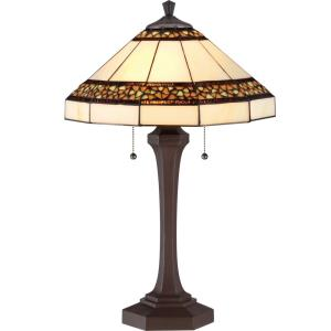 "Tiffany - 24.25"" Two Light Table Lamp"