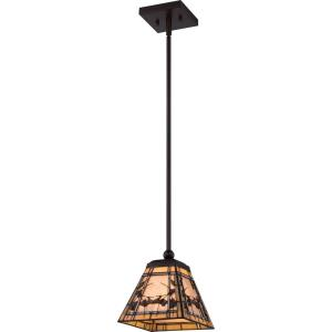 Monteclaire - One Light Rod Hung Mini Pendant