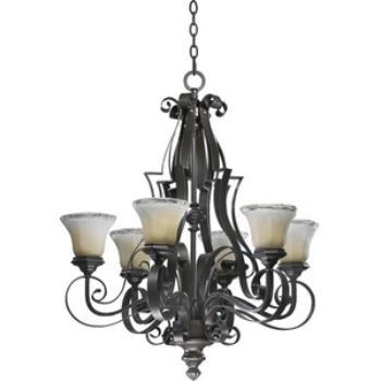 Delphi - Six Light Chandelier - 6121-6-13