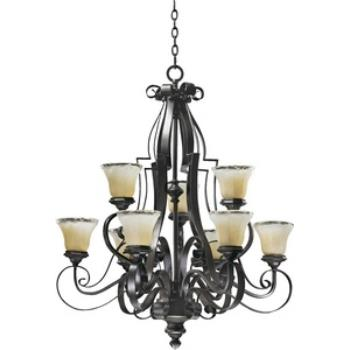 Delphi - Nine Light Chandelier - 6121-9-13