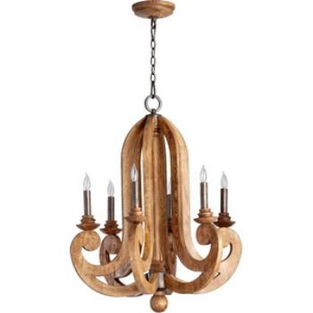 Ashford - Six Light Chandelier - 6163-6-23