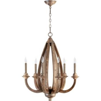 Telluride - Six Light Chandelier - 6166-6-21