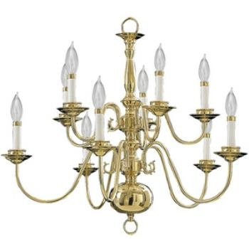 Ten Light Chandelier - 6171-10-2