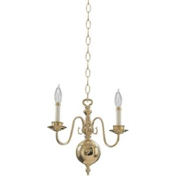Two Light Chandelier - 6171-2-2
