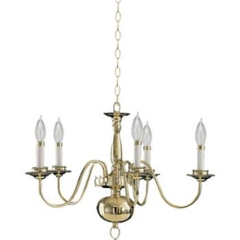 Five Light Chandelier - 6171-5-2