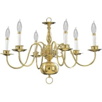 Six Light Chandelier - 6171-6-2