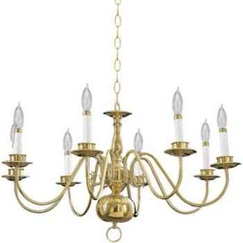 Eight Light Chandelier - 6171-8-2