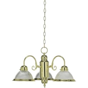 Three Light Chandelier - 6427-3-2