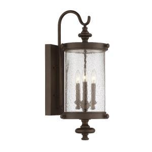 Palmer - Three Light Outdoor Wall Lantern