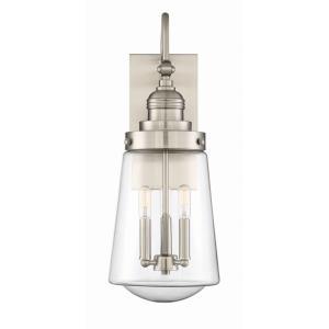 Macauley - Three Light Outdoor Wall Lantern