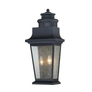 Barrister - Two Light Outdoor Pocket Wall Lantern