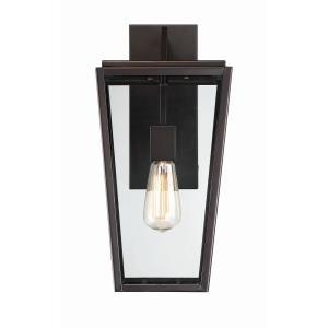 "Milton - 16.5"" One Light Outdoor Wall Lantern"