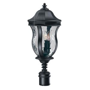 Monticello - Three Light Outdoor Post Lantern