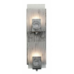 Polar - Two Light Vertical Wall Sconce