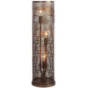 Lit-Mesh Test - Three Light - Table Lamp