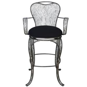 "Flow - 29"" Backed with Arms Bar Stool"