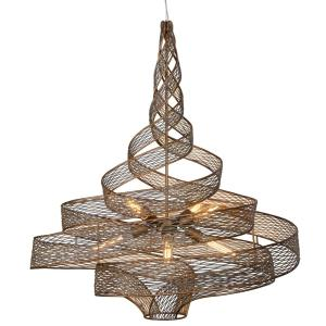 Flow - Six Light Large Pendant