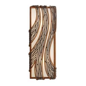 Flow - Two Light Vertical Wall Sconce