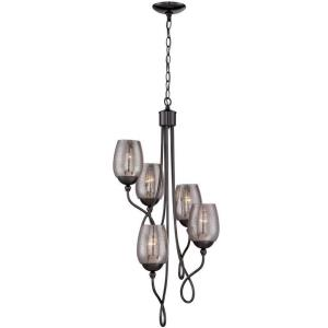 Emma - Five Light Foyer/Chandelier