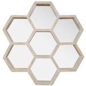 "Honeycomb - 28"" Accent Mirror"