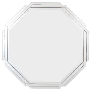 "Varaluz Casa - 34.25"" Octagonal Weave Wall Mirror"
