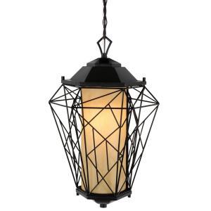 Wright Stuff - One Light Outdoor Medium Pendant