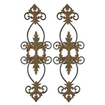 Lacole - Set of Two Decorative Wall Art - 13387